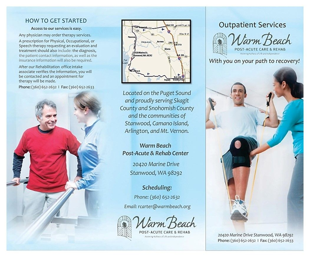 Warm Beach Rehab Outpatient Services