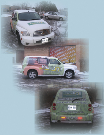 End Of The Roll Vehicle wrap