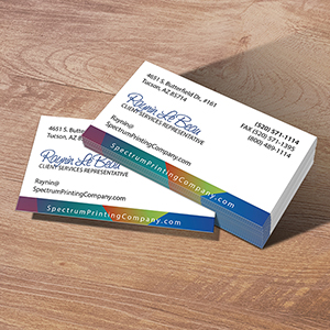 business cards tucson az spectrum printing company