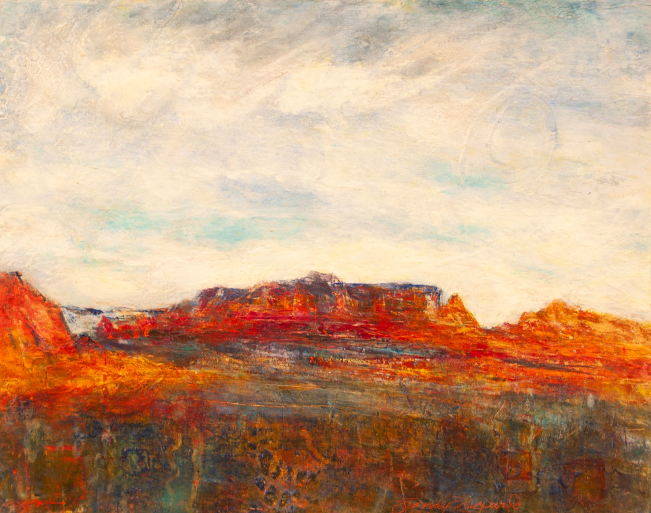"Sandy Shepard - ""Hills of Sedona"""