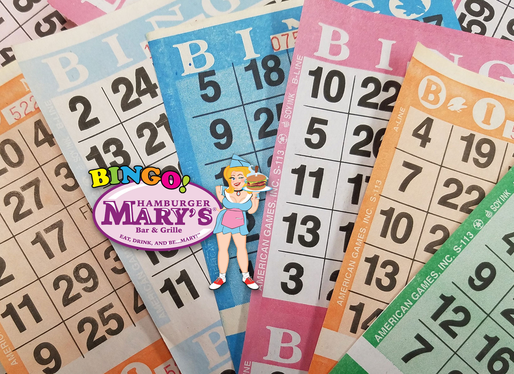 Hamburger Mary's Charity Bingo Night - February 28, 7-9pm