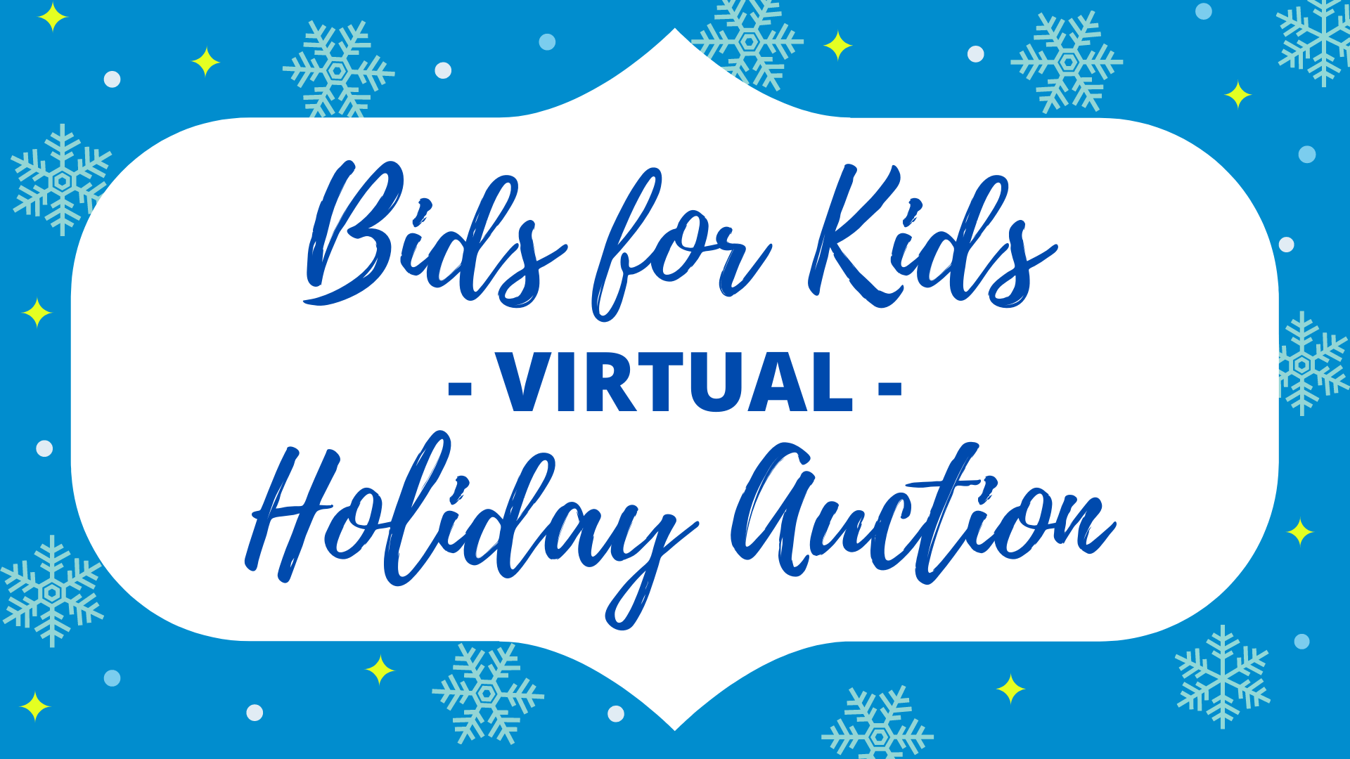 Kids Holiday Auction
