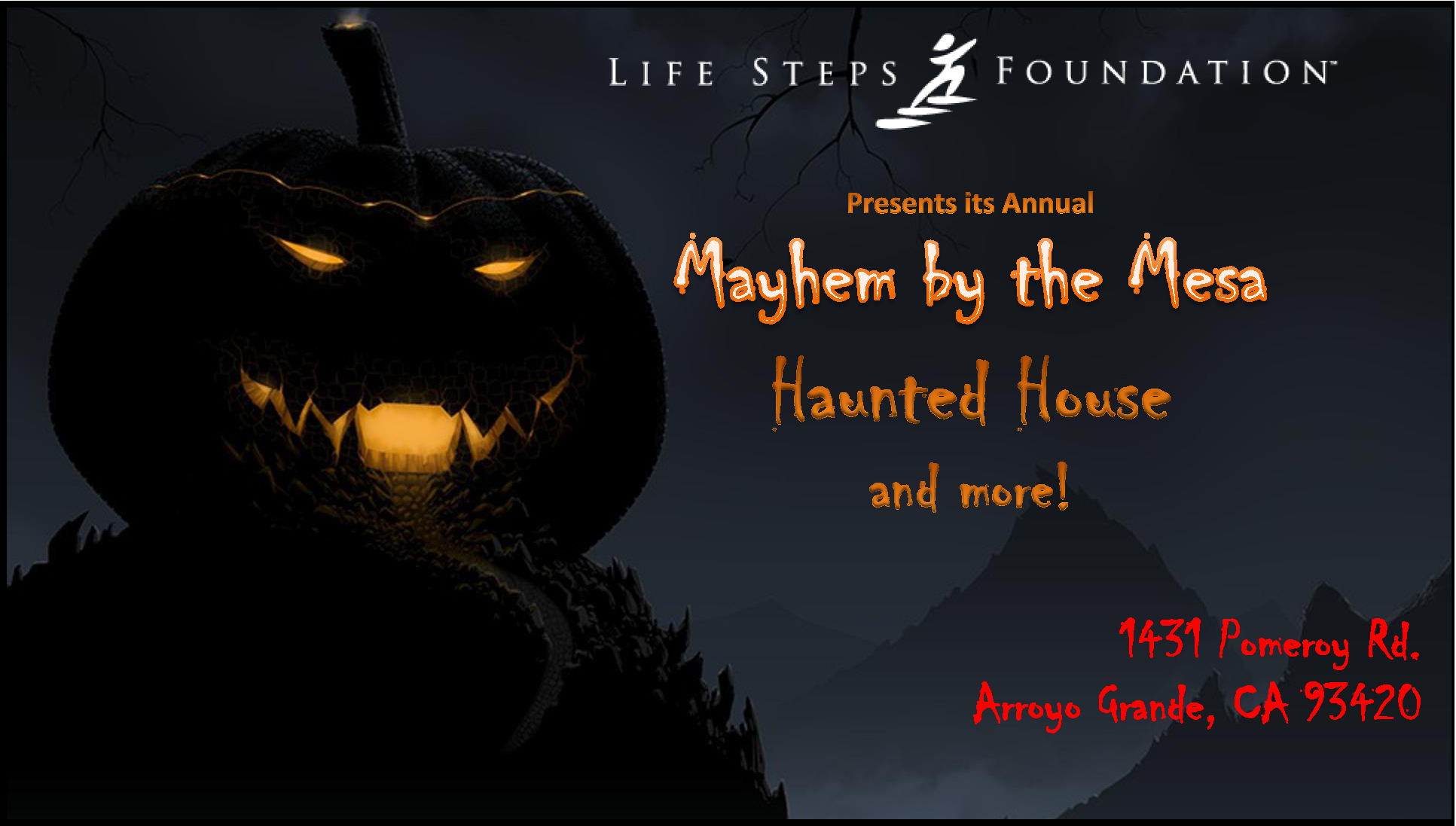 "Annual ""Mayhem by the Mesa"" Fundraiser"