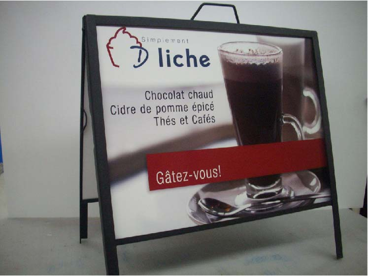 Metal Sandwich Board