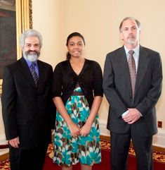 Kirk Curnutt, Marlin Barton, & Jasmine Jones.