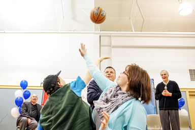 """Children's Square U.S.A. Holds Campaign """"Tip-Off"""""""