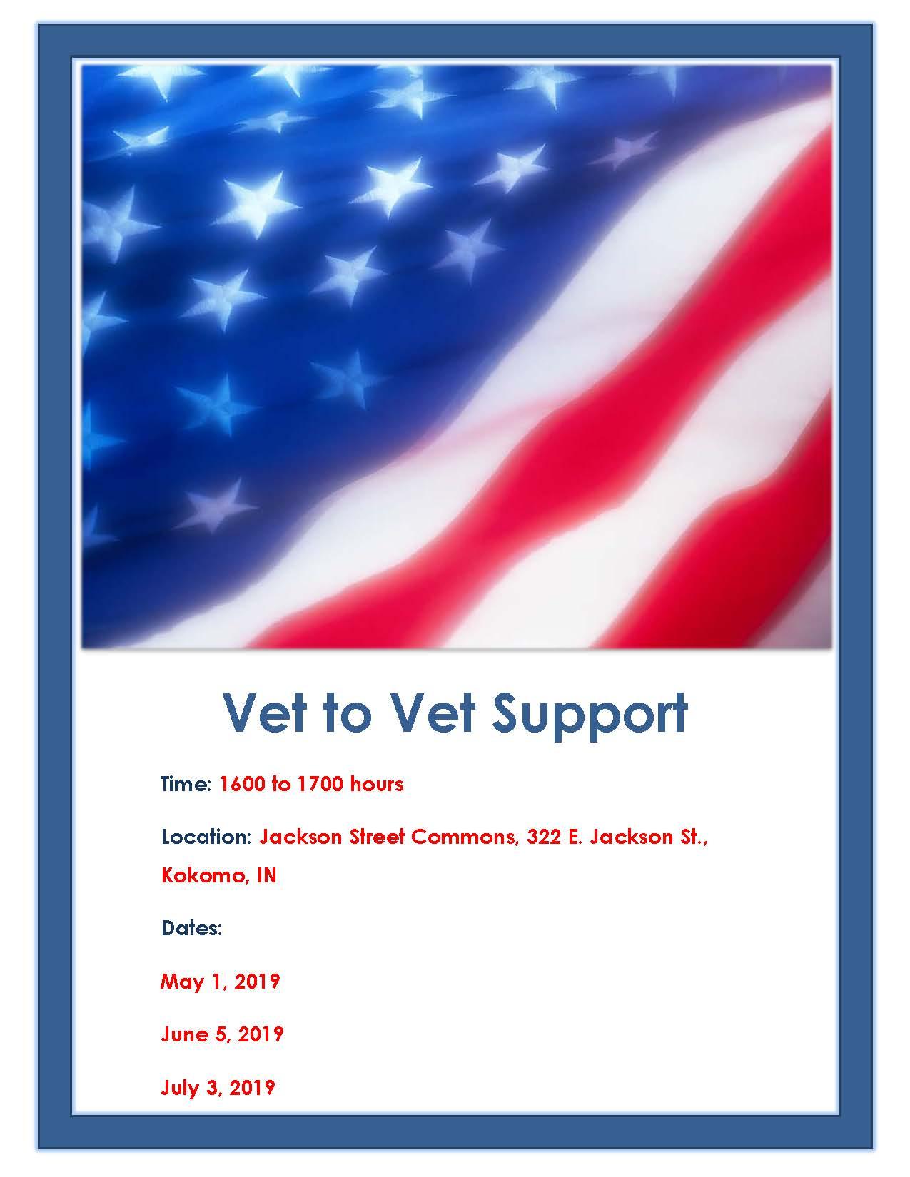 Vet to Vet Support
