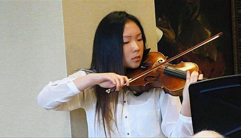 Ejin Hur, violin