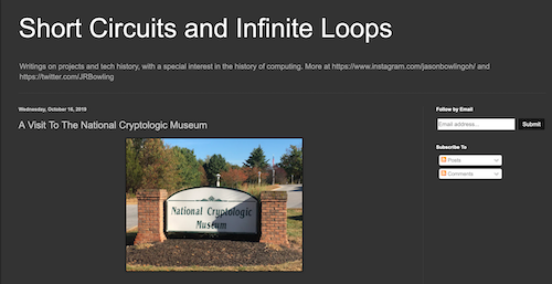 "An NCM Visit Review by Jason Bowling on ""Short Circuits and Infinite Loops"""