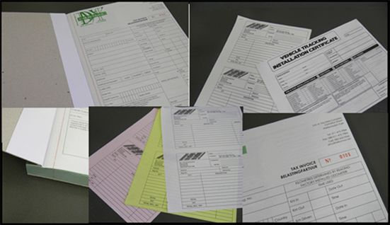 Invoice/Receipt Books (NCR Books)