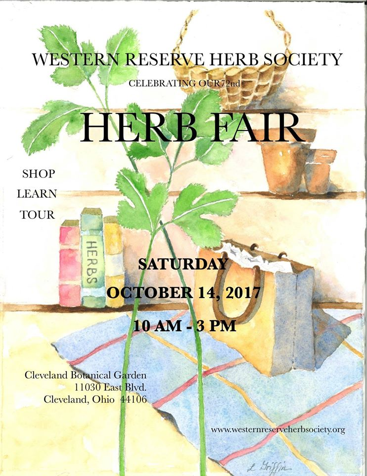 Herb Fair 2017 Western Reserve Herb Society