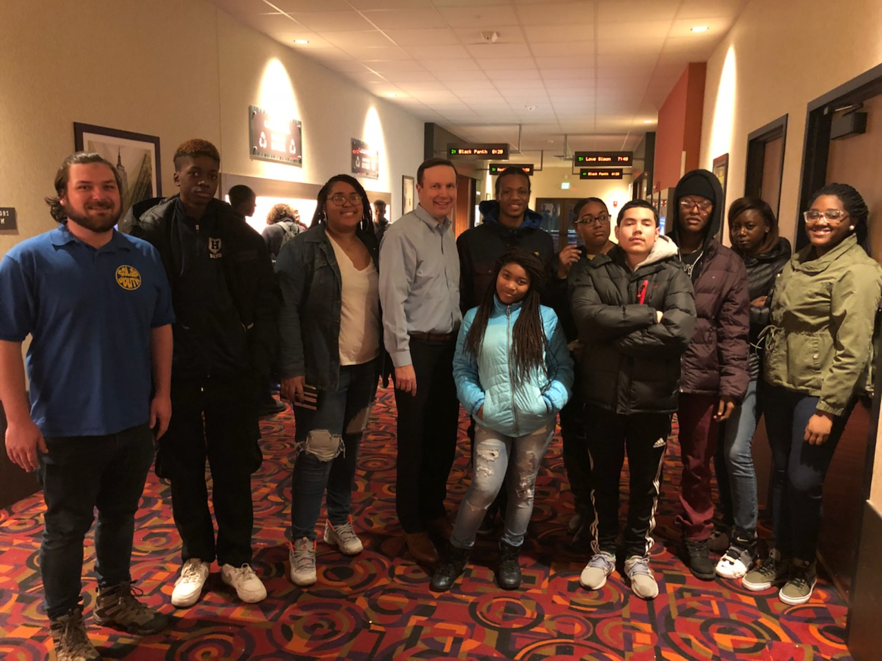 Chris Murphy Visits Wakanda