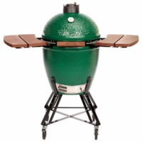 Big Green Egg - Large with stand and shelves valued @ $1,100.00