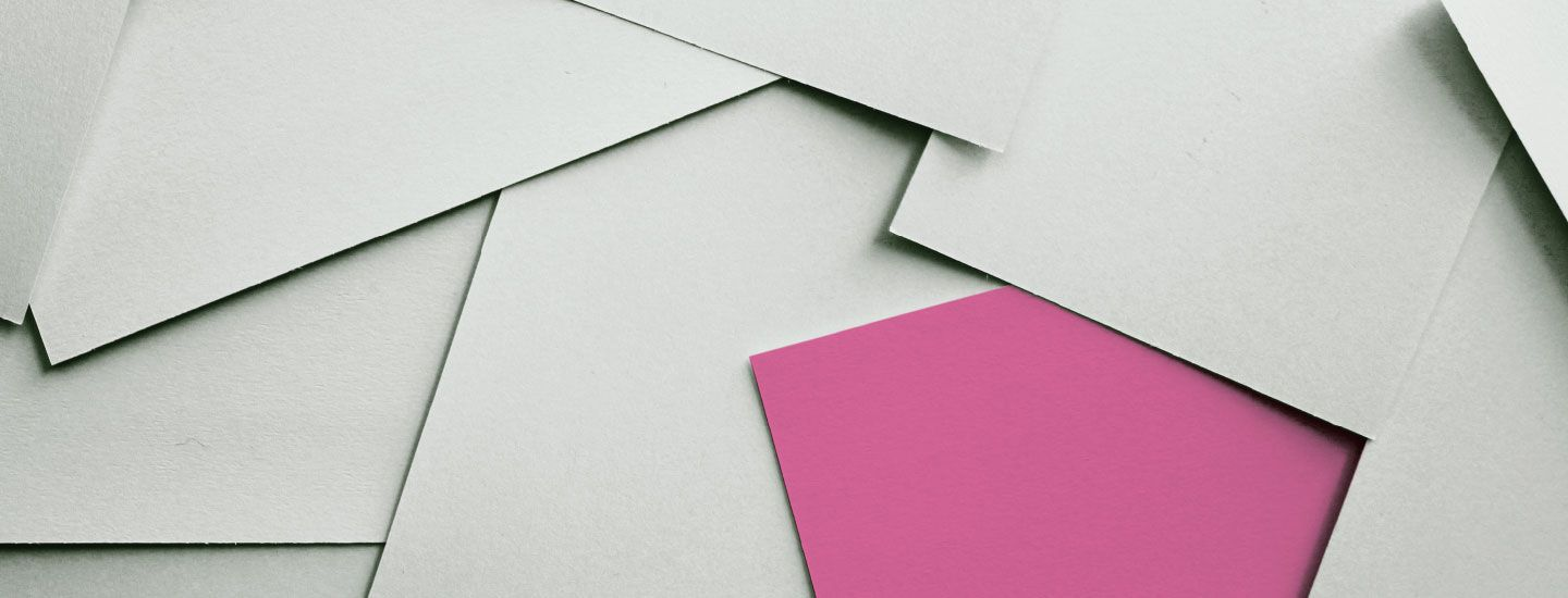 You wanted red. Why is your brochure pink?