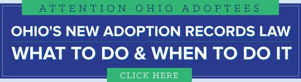 Ohio Adoptee Access Timeline
