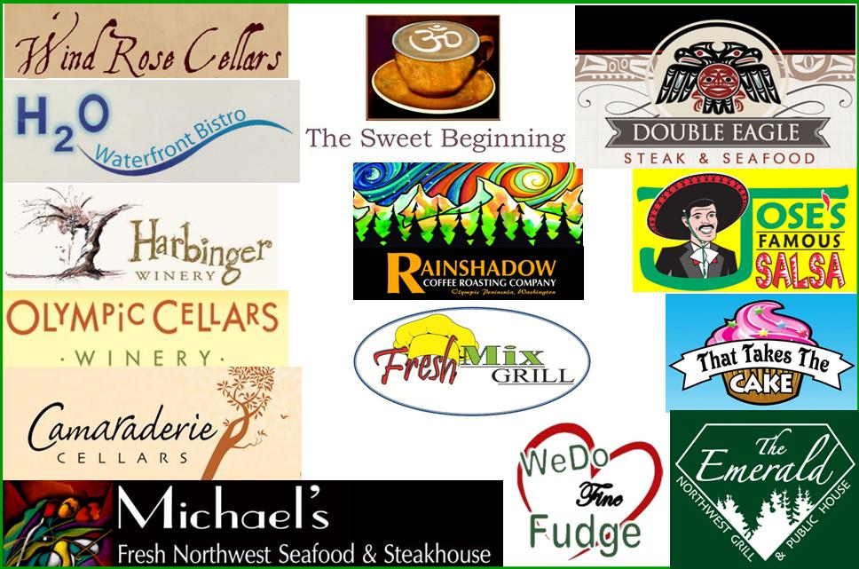 Thank you to the food and beverage sponsors for A Taste of the Peninsula 2016