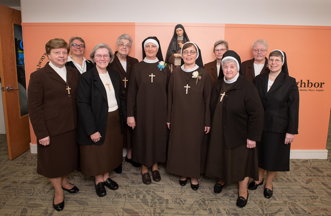 Congratulations to Sr. Agnes and Sr. Gabriella on their first profession of vows!