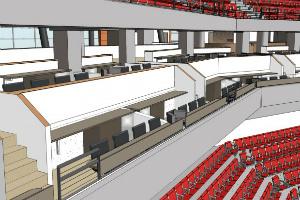 Pinnacle Bank Arena Loge Box