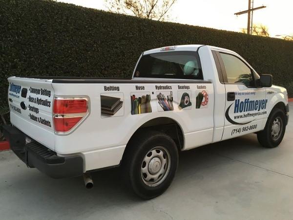 Cost effective fleet truck graphics Orange County CA