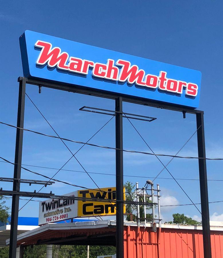 March Motors In Jacksonville Florida