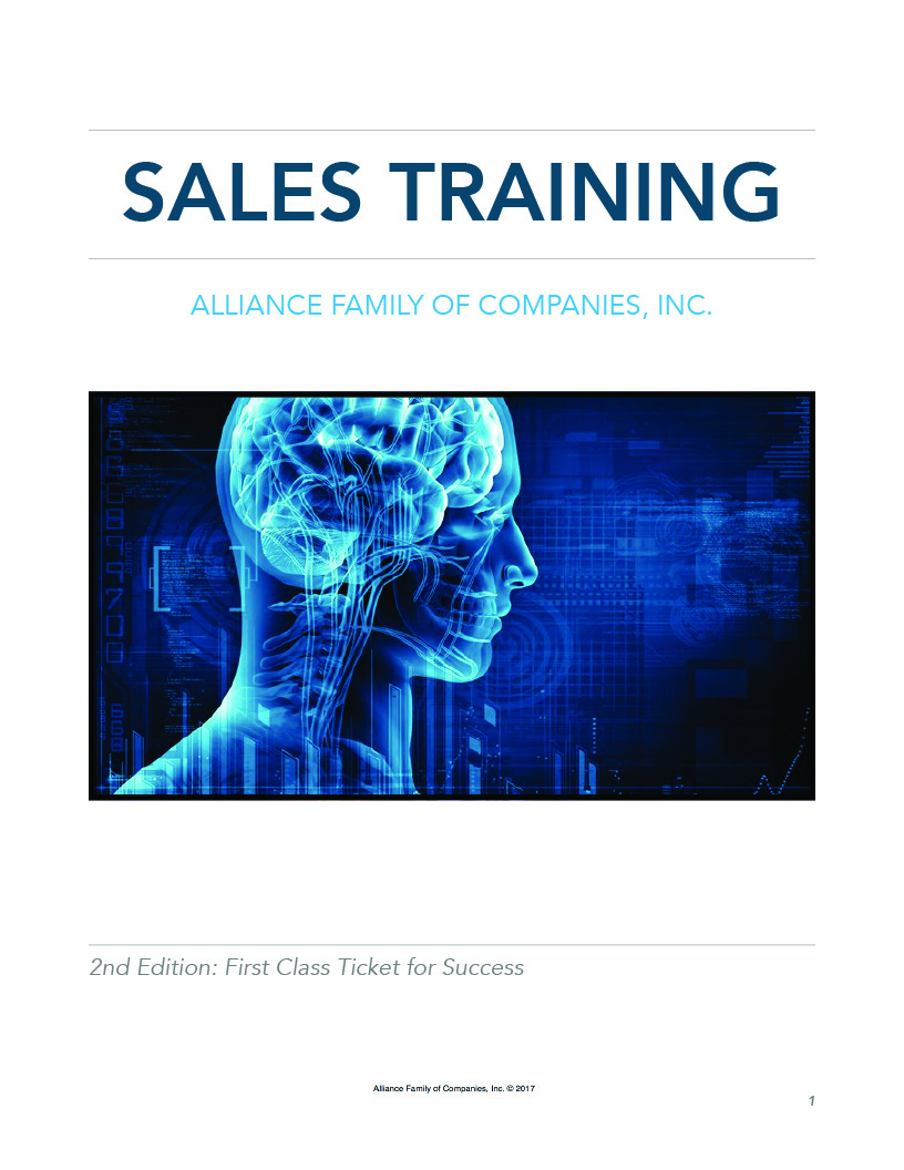 Sales Training Binders