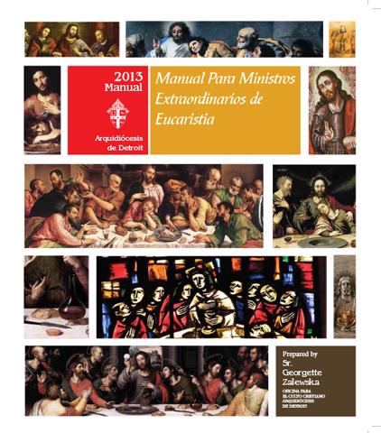 Manual Para Ministros Extraordinarios de Eucaristia 2012