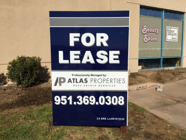 Graffiti-Free Signs for Property Managers in Orange County CA