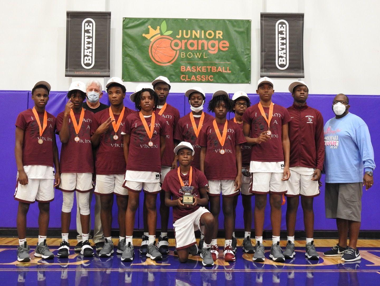 2021 JV Boys' Basketball Classic Champions - Miami Norland