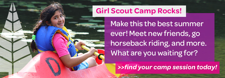 Girl Scout Camp Summer 2016