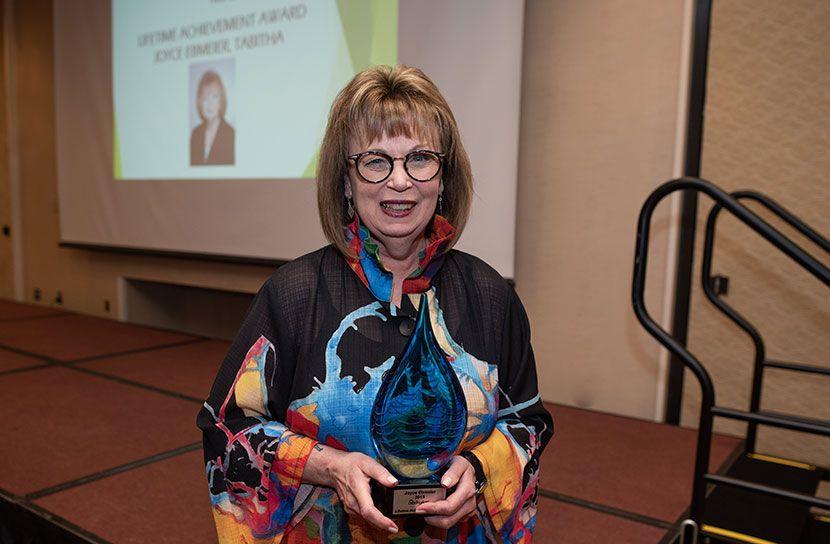 Tabitha's Ebmeier Honored for Commitment to Senior Care