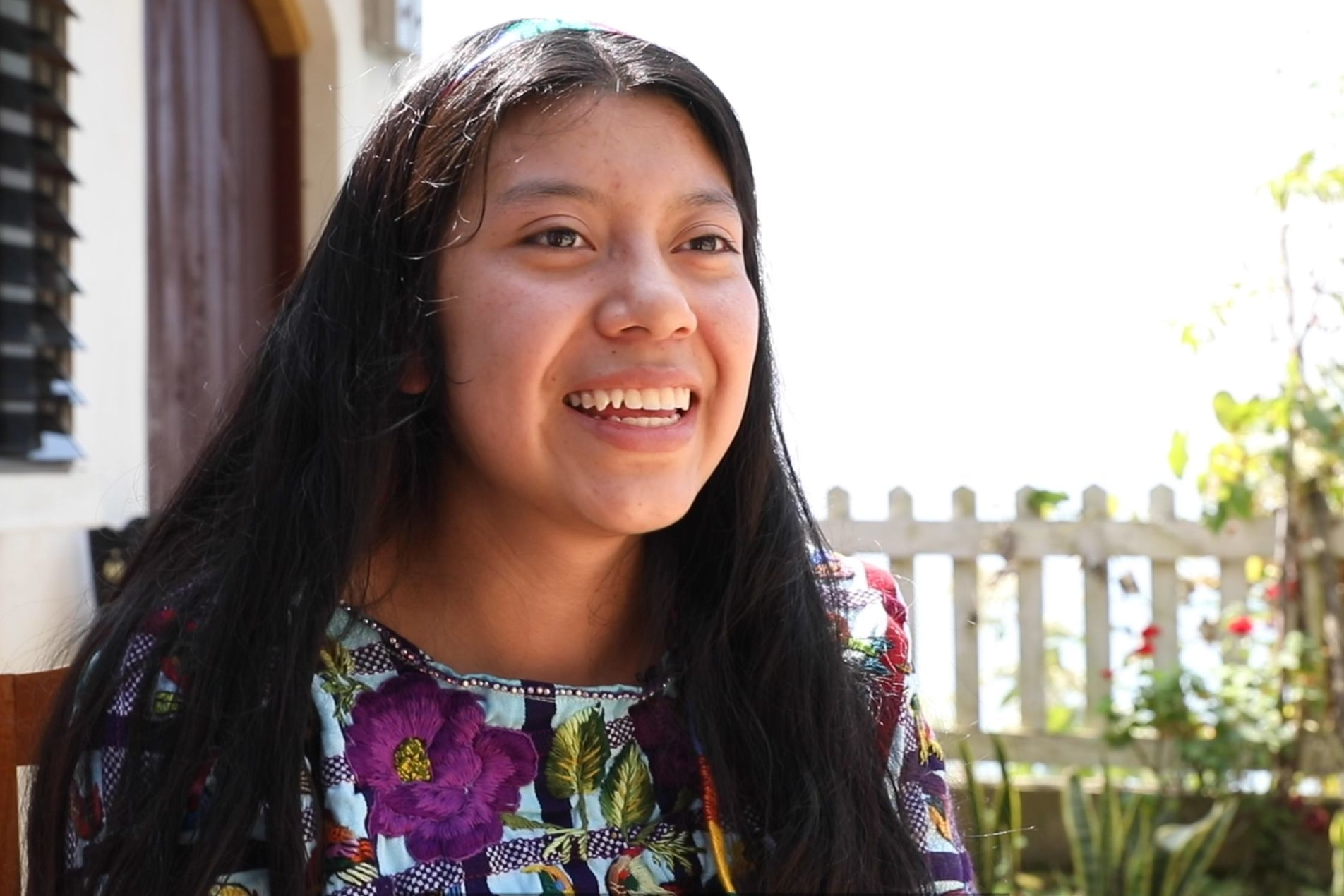 A scholarship student shares her story.