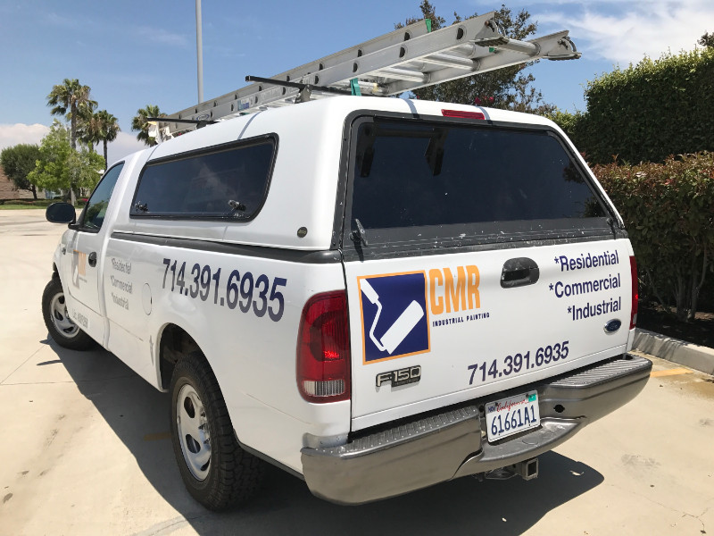 Ford F-150 Truck Decals and Vinyl Lettering in Orange County