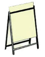 Metal Sandwich Board $75.00