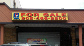 For Sale Vinyl Banner