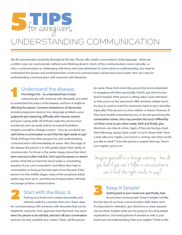 5 Tips for Understanding Communication