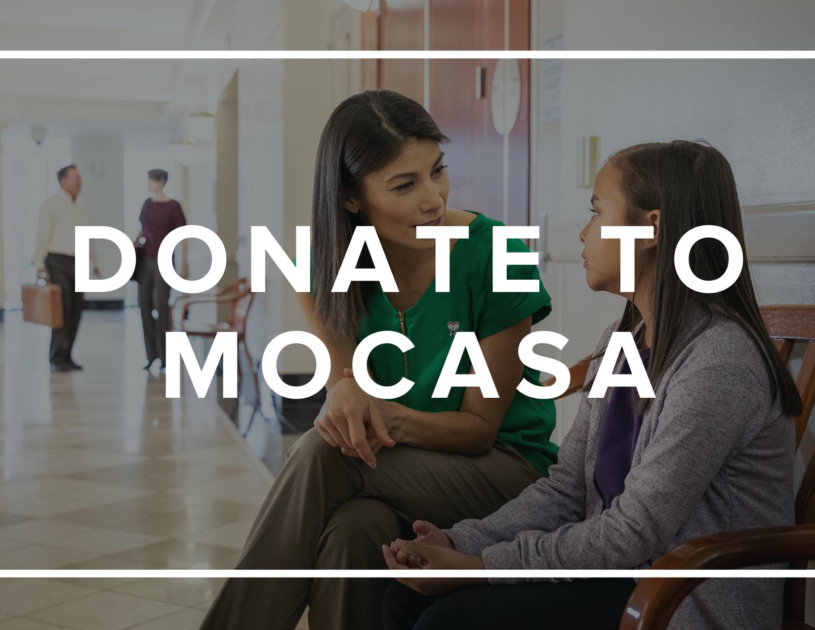 Donate to MOCASA