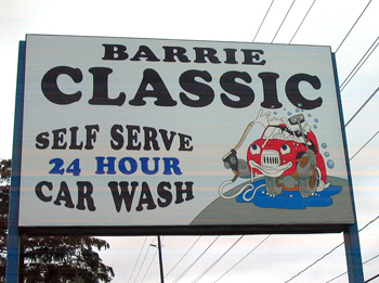 Barrie Classic Car Wash
