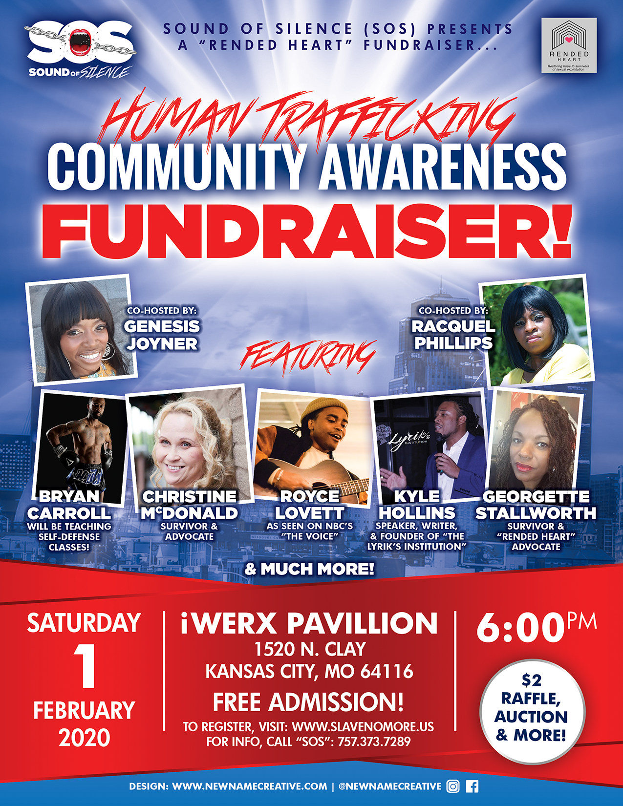 """Sounds of Silence Presents a """"Rended Heart Fundraiser"""""""