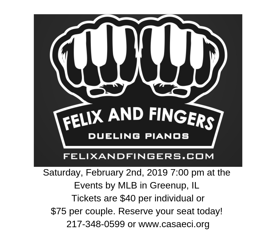 CASA of East Central Illinois : Dueling Pianos