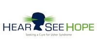 Hear See Hope logo