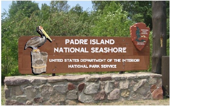 M5136  - Routed Cedar Signboard and NPS Emblem, and 3D Carved Pelican