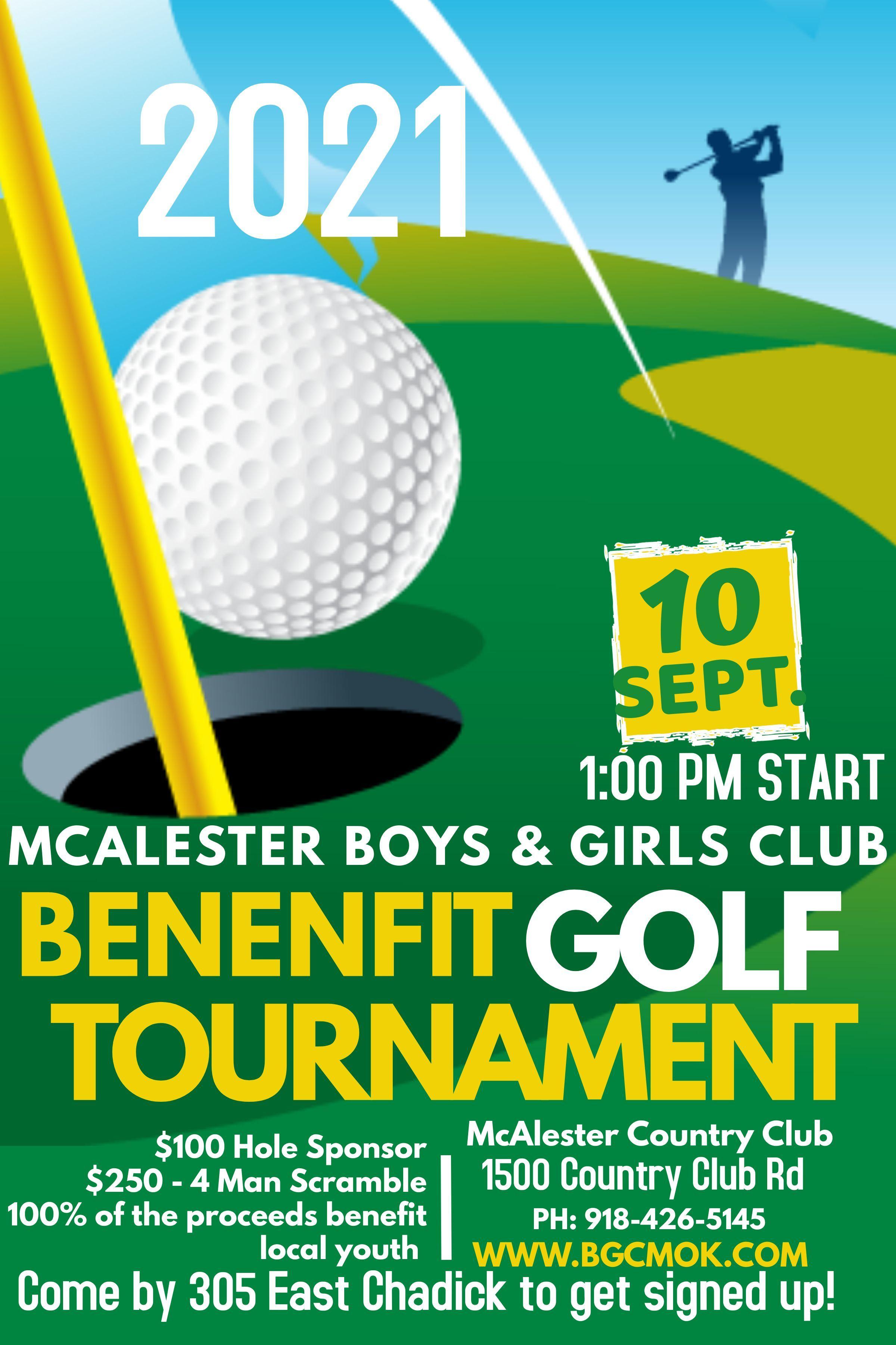 2021 Benefit Tournament