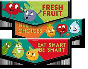 School Lunch Bunch Banners