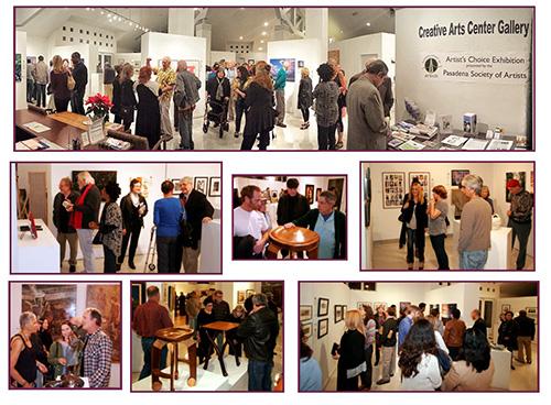 2015 - Artists' Reception - ACE Exhibition at Burbank Creative Arts Gallery