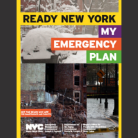Ready New York: My Emergency Plan