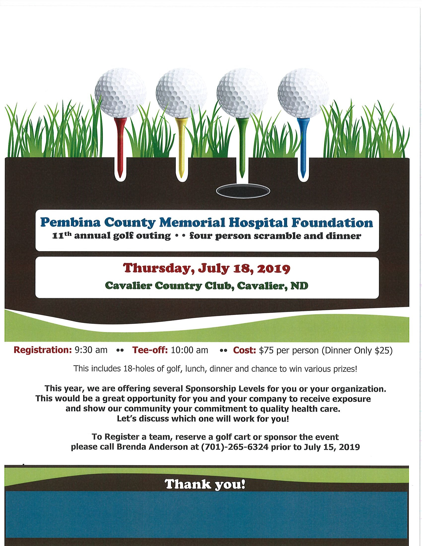 PCMH Foundation Golf Outing & Dinner