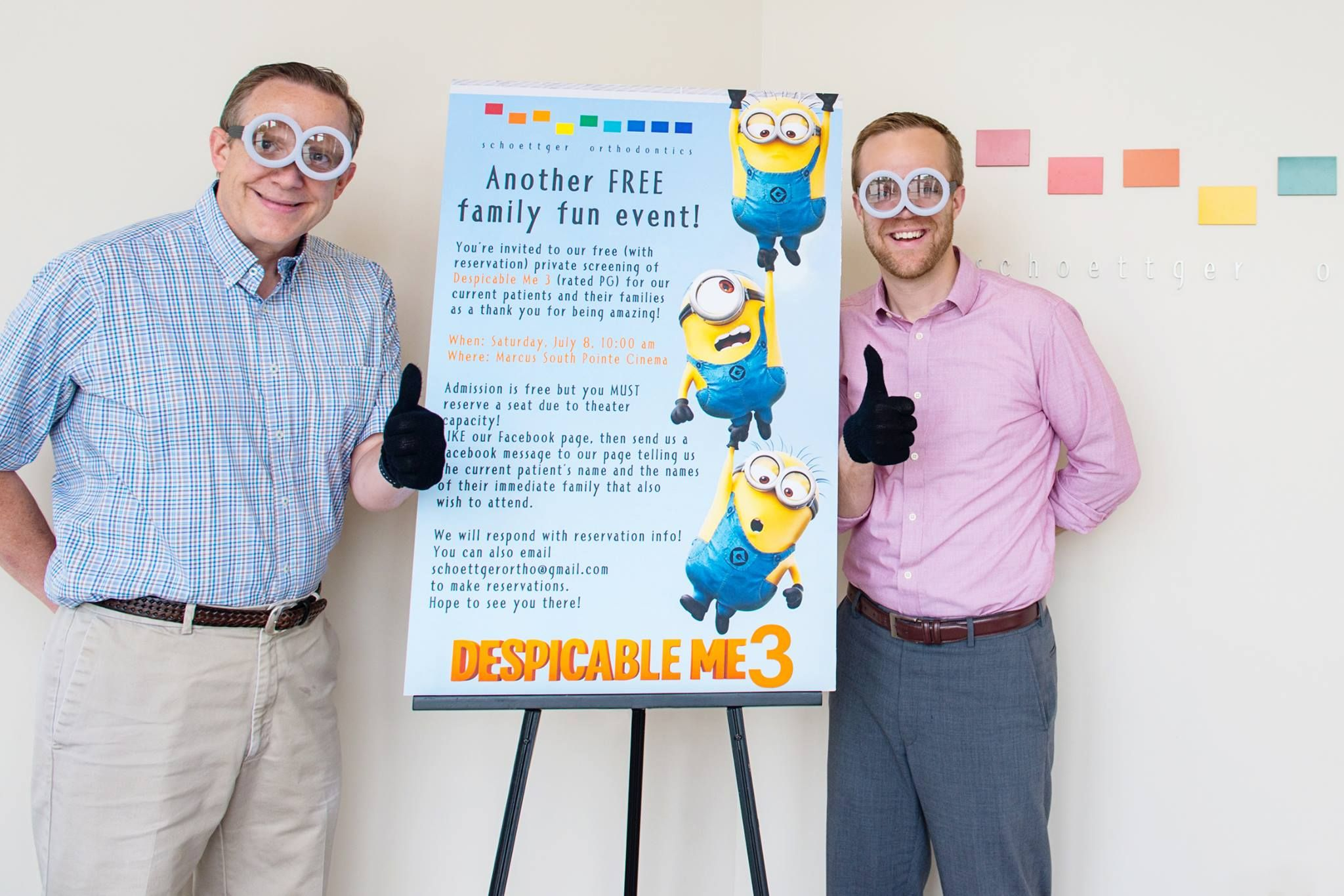 Despicable Me 3 Private Showing coming soon!
