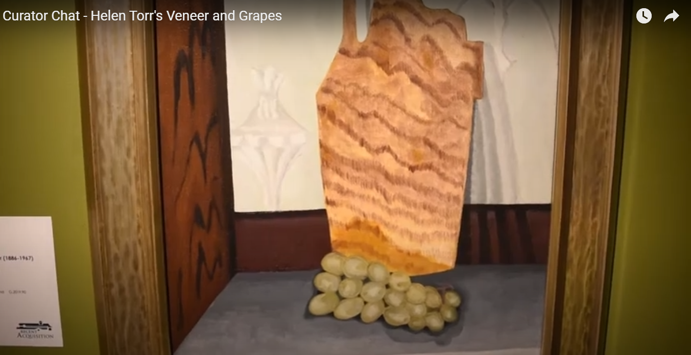 "Curator Chat - Helen Torr's ""Veneer and Grapes"""
