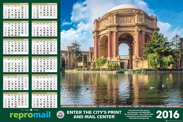 ReproMail 2016 Calendar