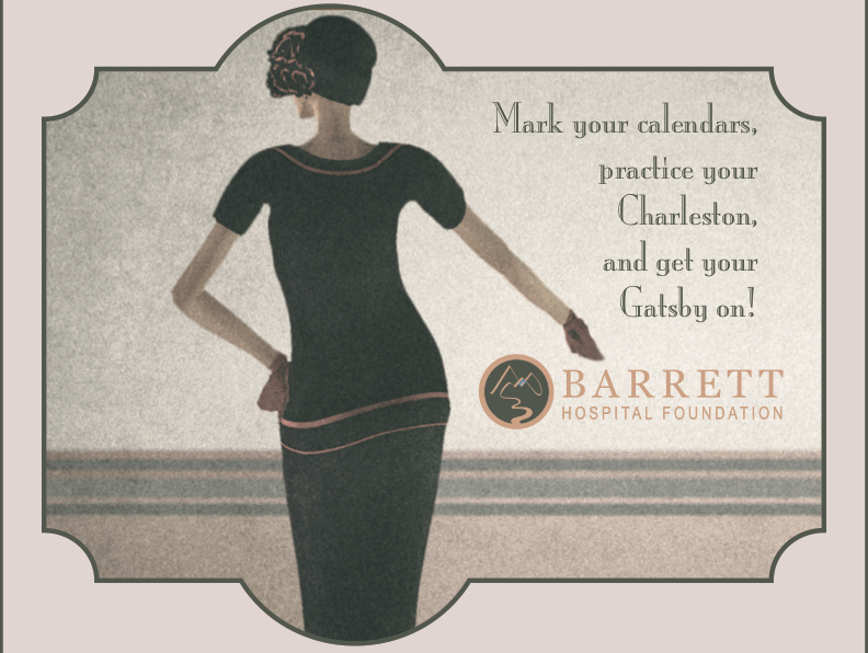 Save the Date!  Roaring 20s Gala August 20, 2021